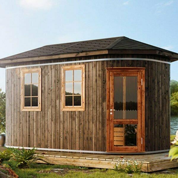 Oval sauna